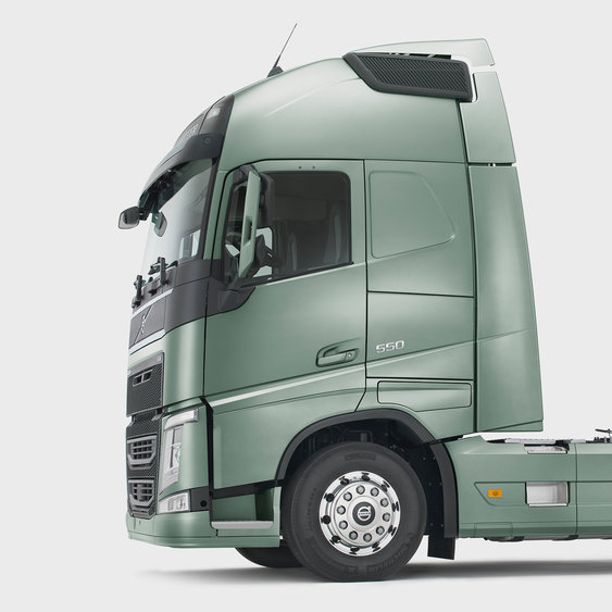 The bold design of the Volvo FH cab
