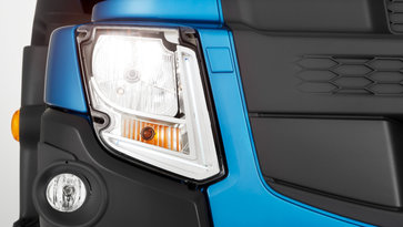 Volvo FE lighting
