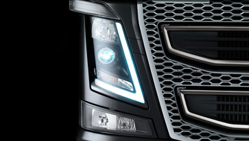Volvo FH exterior lighting