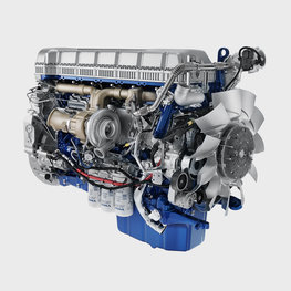 The fuel-efficient Euro 6 Volvo diesel engines