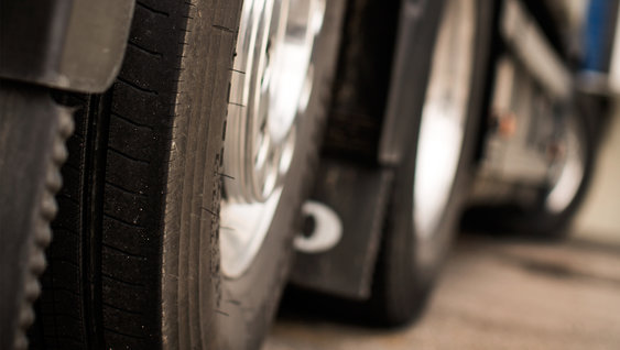 The right tyres and correctly aligned wheels can save fuel